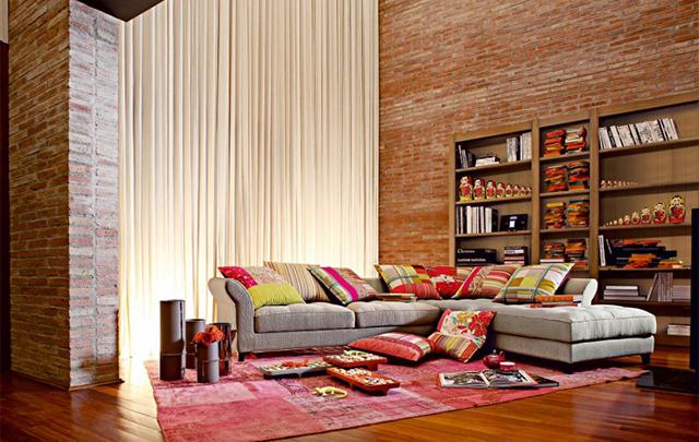 La Roche Bobois Divani. Best Moroccan Sofa Baroque Damask Silk ...