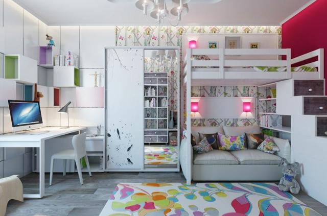 Aménagement Petite Chambre Ado Fille – Design à la maison