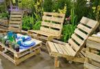 Мебели от палети за двора