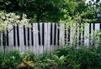 Оригинална ограда приличаща на клавиши за пиано