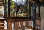 Остъклена Градина на 2-ро Ниво Лофт в Ню Йорк