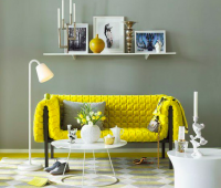 Интериорен дизайн - жълто вдъхновение