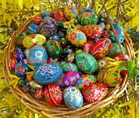 Панер с Великденски Яйца