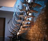 Нестандартни и креативни вътрешни стълби