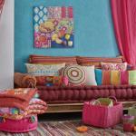 Бохемски стил за декорация на дома