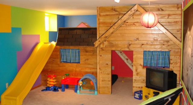 Домашен детски кът за игра
