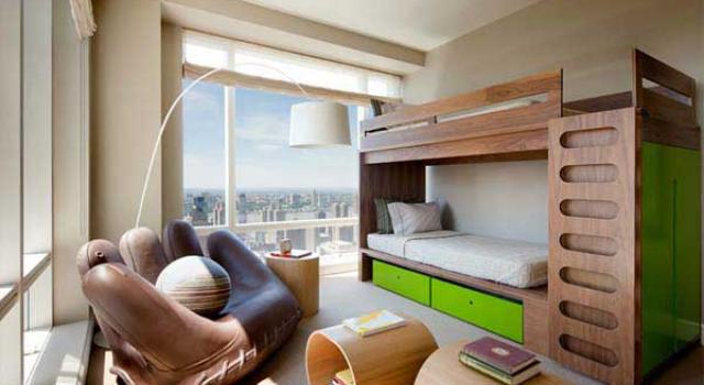 Двуетажни легла за детска стая