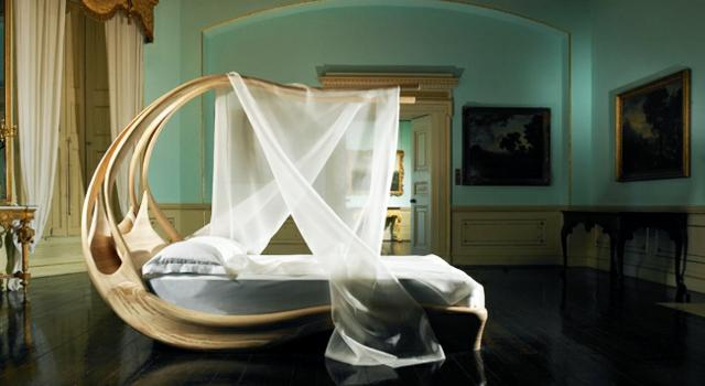 Уникална екстравагантна спалня
