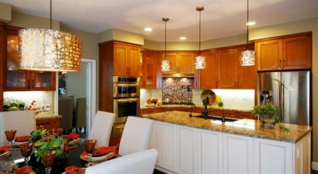 Нестандартни Идеи за Осветление на Кухнята