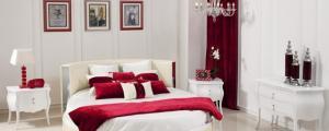 Закръглено легло за повече романтика в спалнята