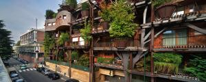 Уникално Озеленена Градска Жилищна Сграда
